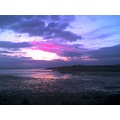 Littlesea Cove Weymouth Dorset sunset sky