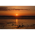 sunset westward ho north devon