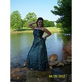 My grandbaby corky prom picture.