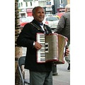 busker musician accordian music Sligo Ireland