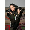 Final day of the New York Fashion Week Fall 2008  Never the less, me on the pit sitting on my s...
