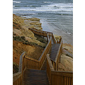 seascape coastal steps