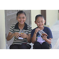 church faithful tenghilan tuaran people girls food