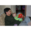 Dad and Nicholas reading