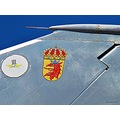 J35 Dragon Close Emblem Skane Sweden Skalderviken April 2013
