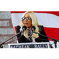 Lady Gaga recently spoke at a ralley in Portland, and took aim at John McCain and like minided po...