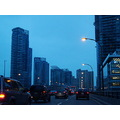 At 4:24pm.On the Gardiner Expressway-Leaving Down after picking my train tickets-Toronto,Ont.,On ...