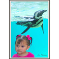 penguin girl animal art pankey wildspirit portrait zoo dallas