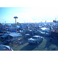 Daytona infield tent city 50th 500 orange lot 2008