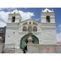 peru colca valley white church