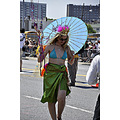 mermaid parade coneyisland brooklyn newyork umbrella