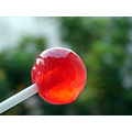 sweet candy lollypop red