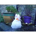 snow snowman isleofwight