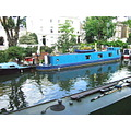 canal canalclub london narrowboat blue