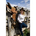 My daughter ShaiLynn took these cowgirl photos.  I figure I had better get some taken before I'm ...