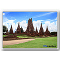 Wat Chai Wattanaram is part of the UNESCO world heritage. 
