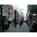 architecture townscape wales shops people