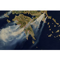 Greece on fire 64 dead people 2.000.000 acres of land burnt