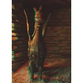 Anaglyph stereoscopic 3D sculpture art House_on_the_Rock Wisconsin oriental Asia
