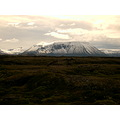 lava Iceland mountains Brfell snow contrasts moss landscape