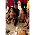 Niños de la comunidad Warao de Boca de Tigre.