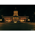 Christmas lights Winnipeg Manitoba legislature Canada