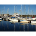 lymington harbour hampshire england sea landscape marine ferry yacht club