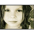portrait child girl kid sunshine eyes