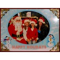 Santa holiday family children