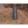 Korean tombstone.