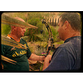 gertjie bezuidenhout johan theron bow and arrow lesson vintage