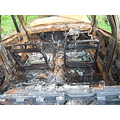 car burnt wreck rusty