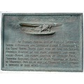 plaque oakland airport aviation history maitland hegenberger
