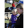 upstate newyork road lafayette apple festival pony ride woman child