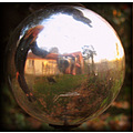 reflectionthursday me selfportrait ball garden