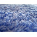 Blue Towel Macro