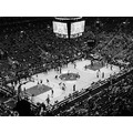 At 7:03pm.In B&W-ACC-Toronto,Ont.,Toronto Raptors & Philadelphia 76er's-On Saturday,Nov.10,2012 B...