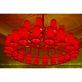 red chandelier mjghajar