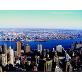 new york america big apple skyline empire state building