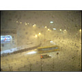 weather snowing winter cars bus road snow storm snowstorm iceland