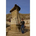 This may give you an idea on how big some of the hoodoos are.  Yep, thats me lol.