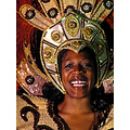 carnival dancer smile