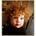 kids people children boy colorfull red hair portrait