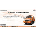 NewSafety Features in Eicher Light commercial vehicle