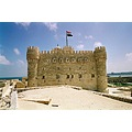 egypt alexandria Kaitbay castle sea