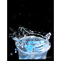 splash water agua macro liquid detail