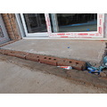 17. If I had been the builders, I would have taken down the porch BEFORE I put the concrete floor...