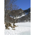 violoncellistadelblu nature lake mountain snow winter Parma Italy