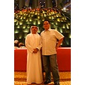 Burj al Arab lobby with our host