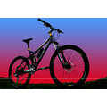 Mountain bike silhouette khs 204 xc 2010 full suspension xt shimano
